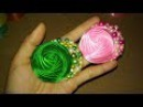 DIY Cara Membuat Bros Rose Bund Mutiara 🌸 Tutorial Bros Simple by Lista Tsurayya