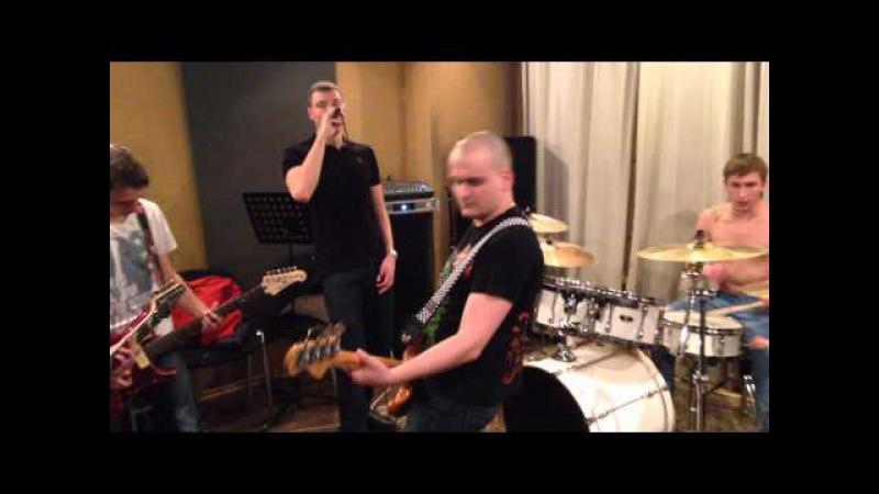 Московская панк-рок группа Фактория (репетиция2015)