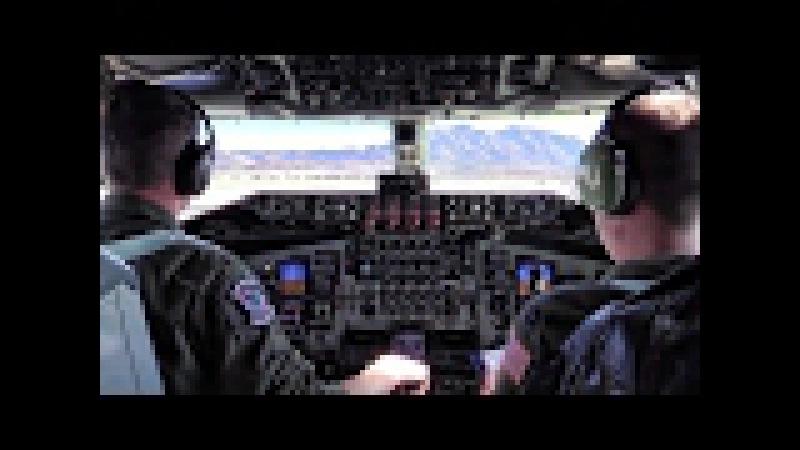 KC-135 Mission At Red Flag 17-1 • Cockpit Takeoff Landing