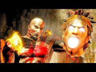 God of War 3 Remastered Kratos Kills Helios HD 60FPS 1080p