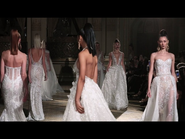 BERTA S S 2018 Bridal Collection NY Runway Show