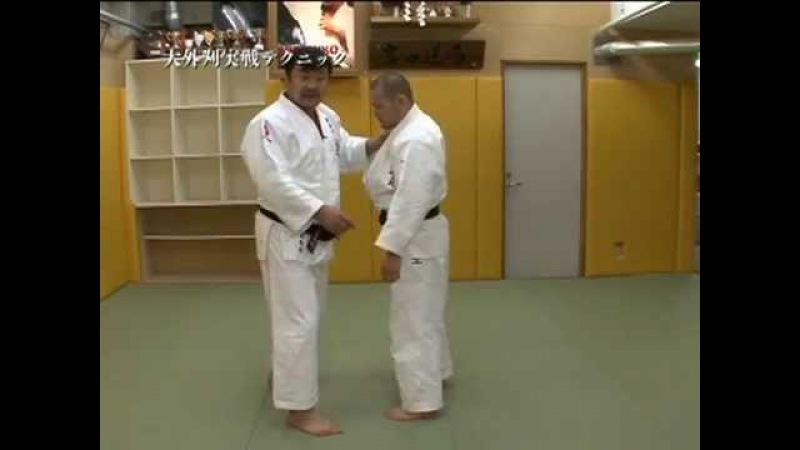 吉田 秀彦 HIDEHIKO YOSHIDA - O SOTO GARI