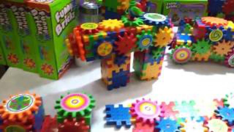 Funny Bricks Фанни Брикс развивающий конструктор для детей 720p