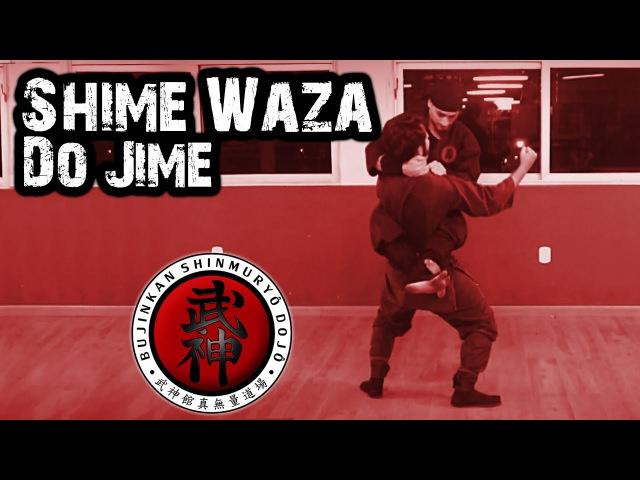 Ninjutsu   Shime Waza - Do Jime