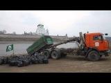Субботник 28 03 2015   Погрузка мусора