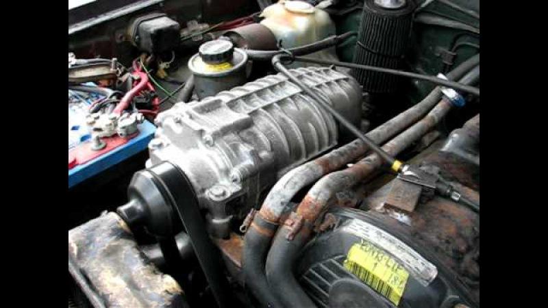 Toyota Hilux 2.4 Diesel 2L2 Eaton M65 Supercharger
