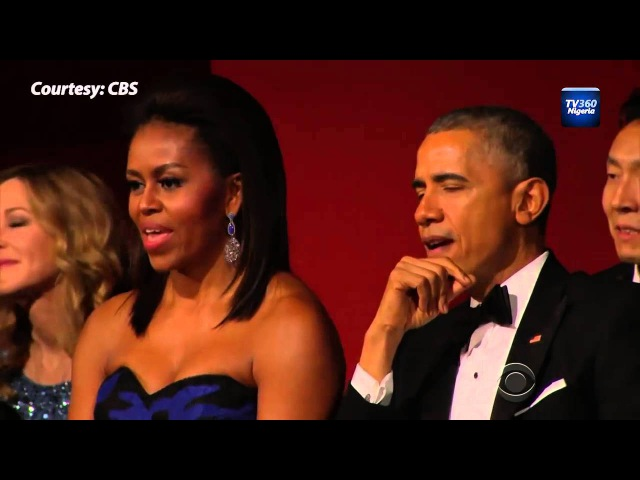 Watch Aretha Franklin Make President Obama Emotional [To all the women we love ... Thanks to be our real daily needs of Love, Happiness, Tenderness, Care, Devotion, Family, Grace ... May GOD bless you all ever ... (GiBBS)]