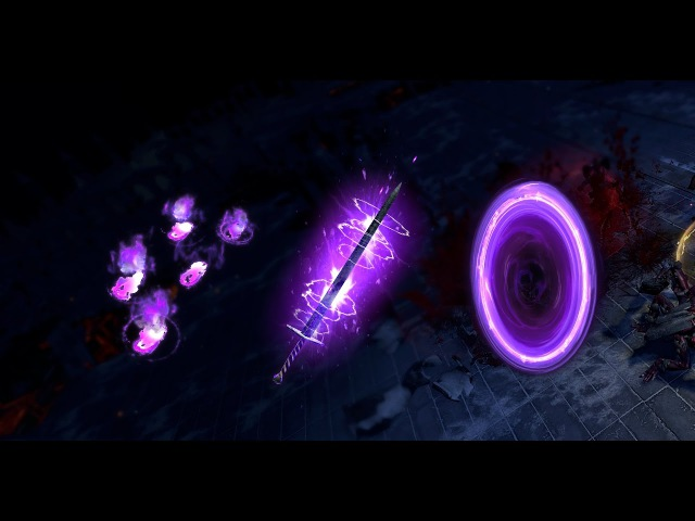 Purple Portal, Purple Weapon Effect and Purple Footprints available through Twitch Prime!