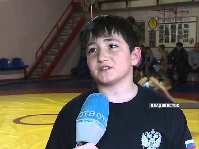 Во Владивотсоке прошел турнир по греко-римской борьбе