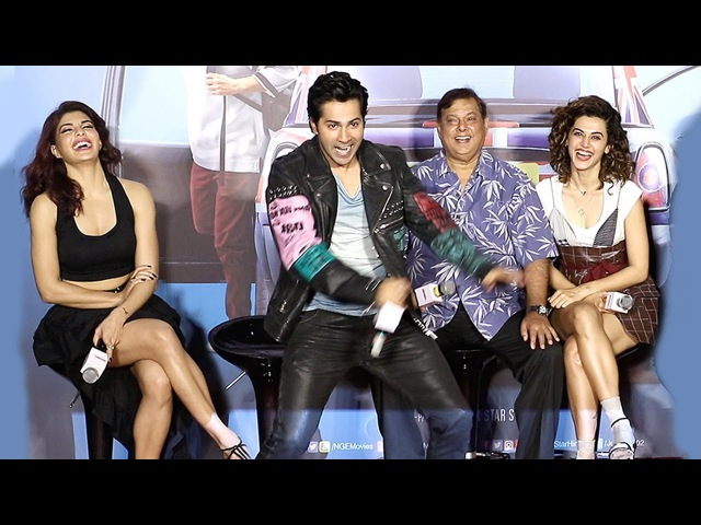 Varun Dhawan,Jacqueline Taapsee Pannu's FUNNY Moments At Judwaa 2 Trailer Launch