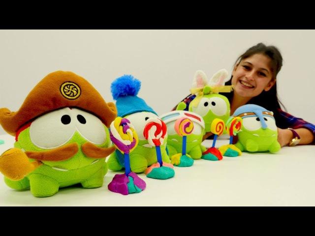 Ayşe ile oyuncak kreşi! Omnomlar 🍭 renkleri ve sayıları öğreniyor 1⃣2⃣3⃣ . eğiticivideo