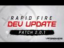 LawBreakers Rapid Fire Dev Update Patch 2.0.1