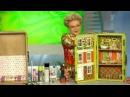 Новая жизнь старого чемодана Дом для куклы