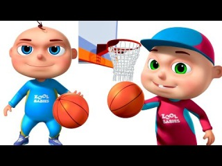 Zool Babies Playing Basket Ball   Animated Funny Cartoon   Cartoon Animation For Children