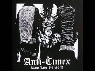 Anti Cimex - Raw Live 84-86