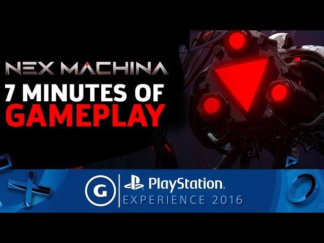 Nex Machina Full Level Gameplay
