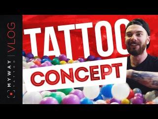 Певица Ёлка, случайное знакомство на Tattoo Concept
