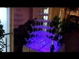 Пирамида с шампанским на светодиодном столе. Заказать +7(908)68-888-68