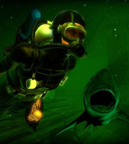 Поплавать с акулами? Да пожалуйста! Мультиплеерные игры на PC. Глубина - Акулы против дайверов