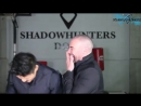 Find Out Who Would Win A Shadow World Staring Contest Harry Shum Jr vs Alan van Sprang rus sub
