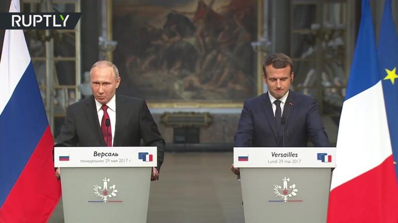 «Боритесь за отмену всех ограничений»_ Путин — по итогам переговоров с Макроном