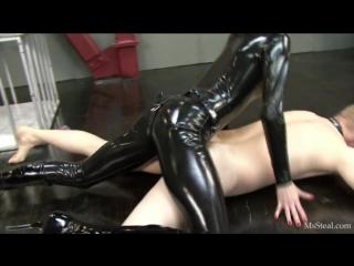 Lube me up [mistress leather femdom anal facesitting strap on latex fetish bdsm bondage hardcore]