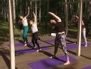 YOGA в парке СемьЯ 23 06 17 от Оранж Фитнес