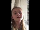 Маленькая певица Есения, для мамы 😍💋