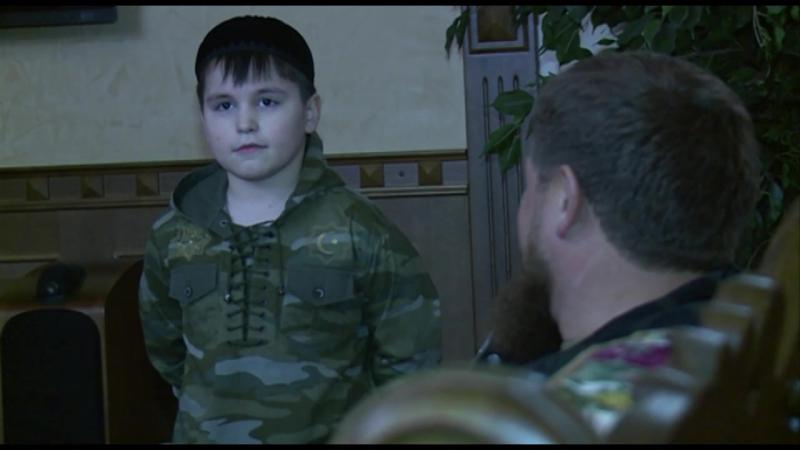 Посетил семью мэра Аргуна Ибрагима Темирбаева