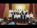 Сияние звёзд 18.11.17.Номинация Поющий класс. Песня О. Газманова Вперёд, Россия!