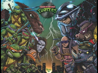 TMNT - Hot Action Cop – Going Down On It