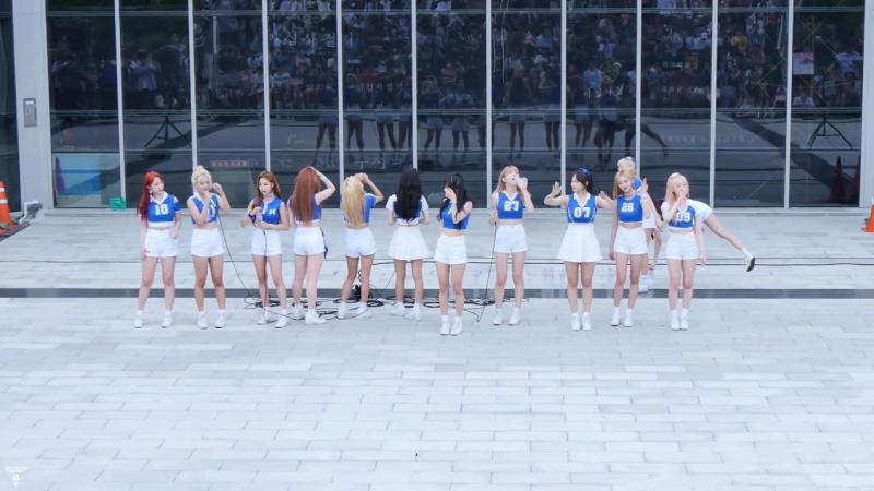 [4K] 170716 우주소녀(WJSN) 전체 - 멤버별소개 @게릴라공연(SRT수서역)-직캠 By 쵸리(Chori)