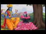 Шри Кришна и Арджуна поклоняются Господу Шиве (фрагмент из Махабхараты)