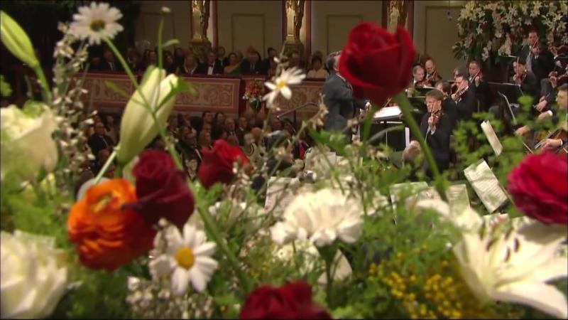 Новогодний концерт Венского филармонического оркестра. Дирижёр Марис Янсонс. 2012 год.
