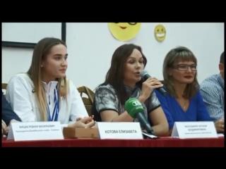 АСН - пресс-конференция с волейболисткой Елизаветой Котовой
