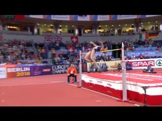 Как Юлия Левченко стала первым в истории Украины призером зимнего чемпионата Европы в женской высоте