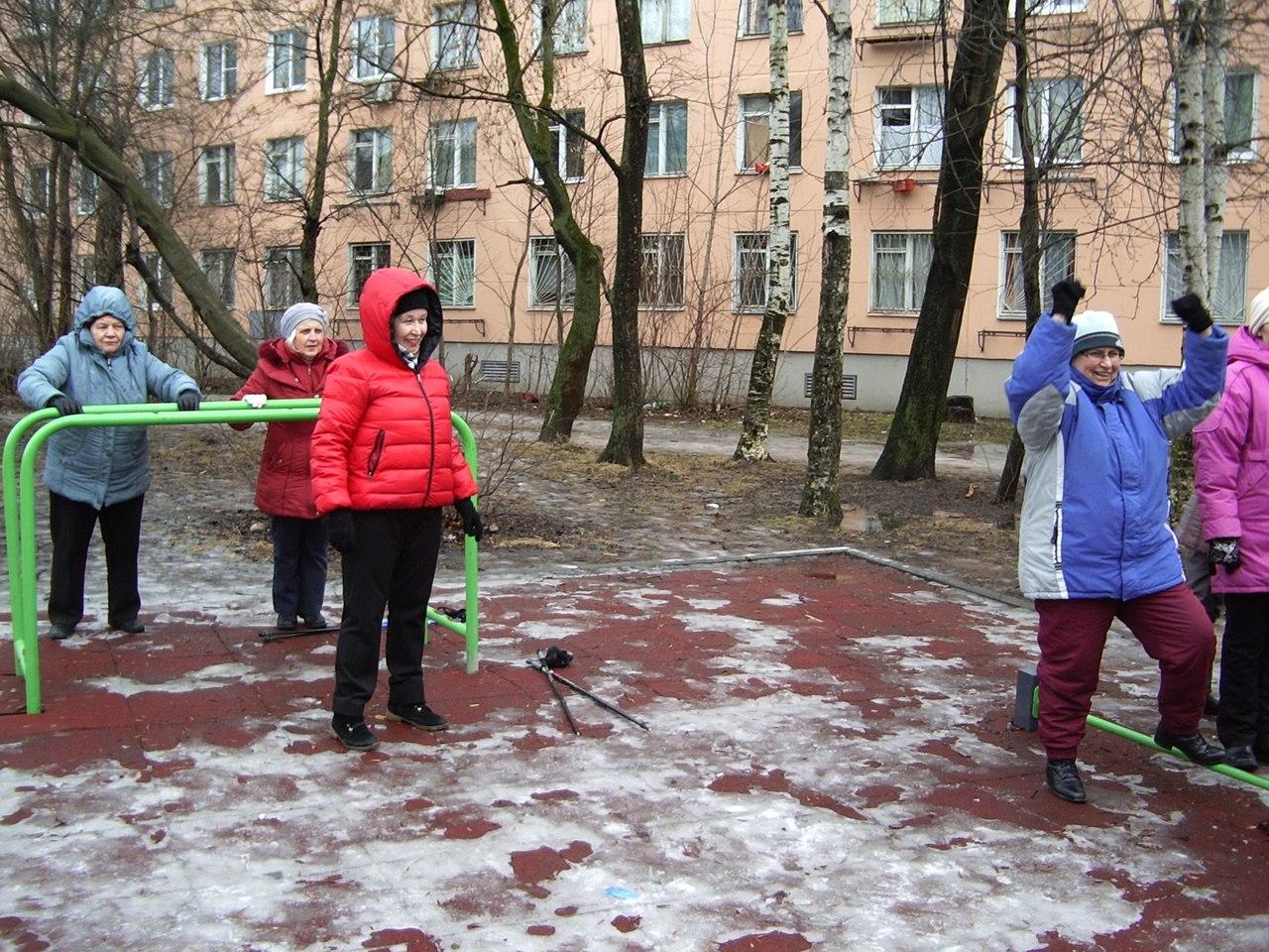Купчинская Лыжня - 2017. Группа Возрождение