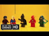 LEGO Batman Meets The CW Superheroes [HD] Arrow, The Flash, Supergirl