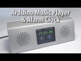 Arduino Touch Screen MP3 Music Player and Alarm Clock Project
