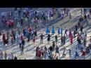 Вцентре Петербурга более трех тысяч человек приняли участие в«Хороводе мира». Новости. Первый канал