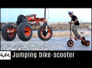 Make it Extreme's jumping bike-scooter