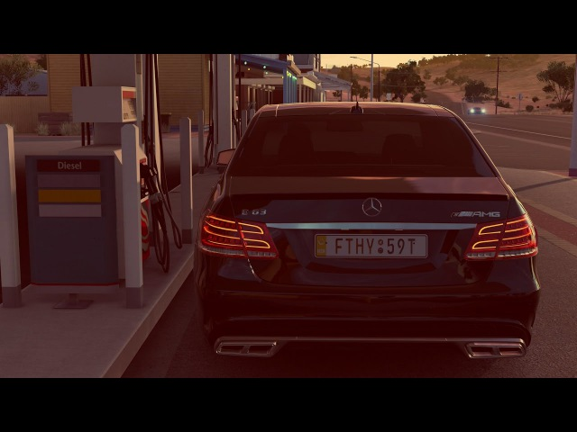 Forza Horizon 3 Mercedes Benz E63 S AMG Gameplay 1080p