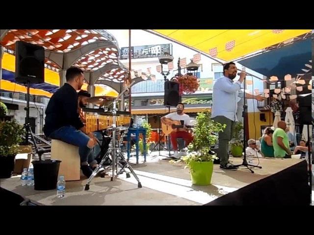 Cante y baile en la Feria ALHAURIN de la TORRE 2017, canciones populares espanolas, 24/06