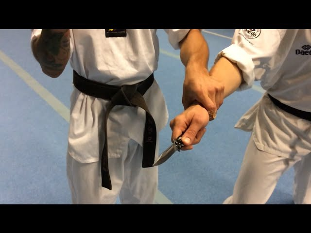 Self-Defense against weapon, knife or no weapons