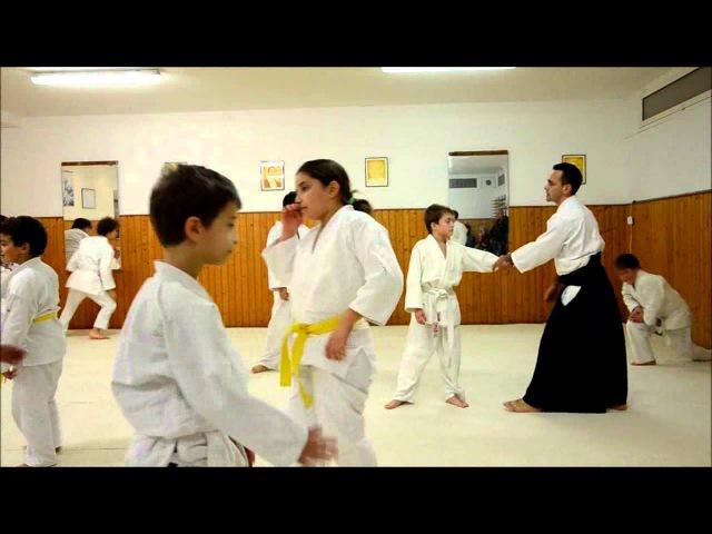Aikido - Embukai Aikikai Ventimiglia - Tecniche bambini