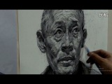 Portrait Drawing in Pencil : Old man Portrait #03