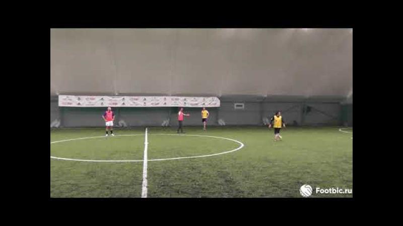 FOOTBIC.RU. Видеообзор 23.10.2017 (Метро Марьина Роща). Любительский футбол