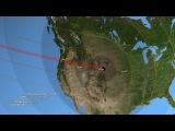 Eclipse Across America Path Prediction Video
