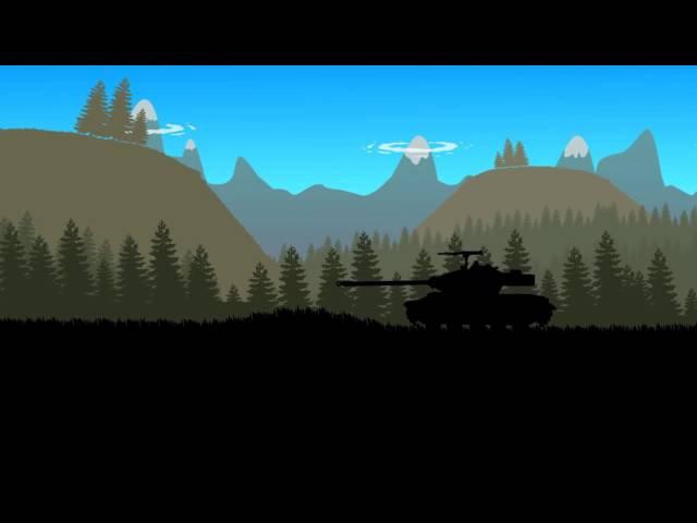 Истории танкистов. Переезжай арта.