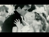 Frank &amp Nancy Sinatra - Something Stupid   (Patrick Swayze movie - lyrics on screen)